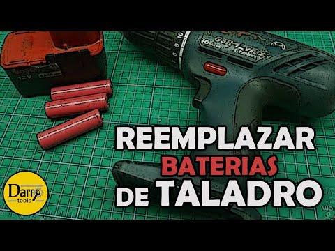 Reemplazar baterías de taladro (Ni Cd por Litio)