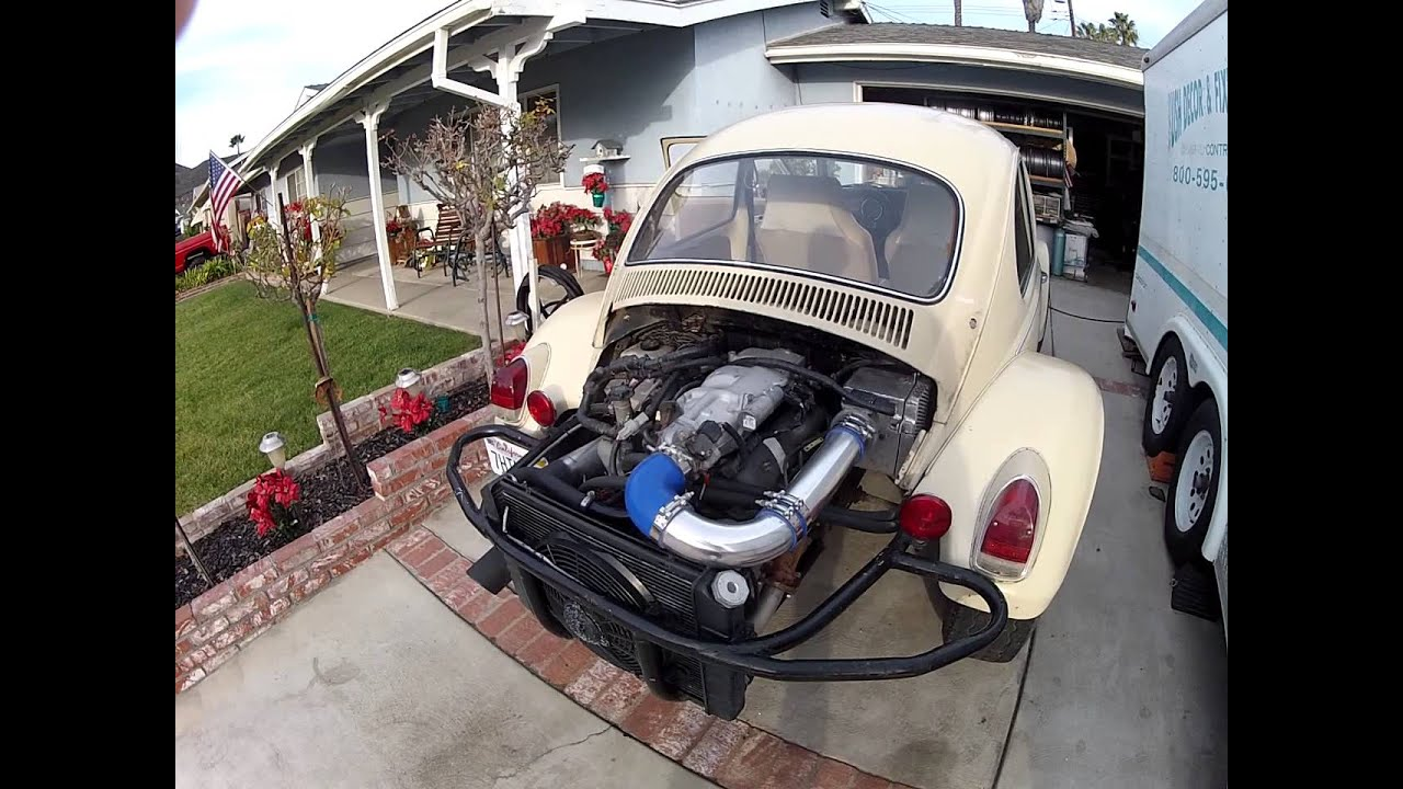 4 0l V6 Vw Baja Bug Youtube