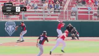 UNM Baseball Highlights vs. UNLV 4/22/17