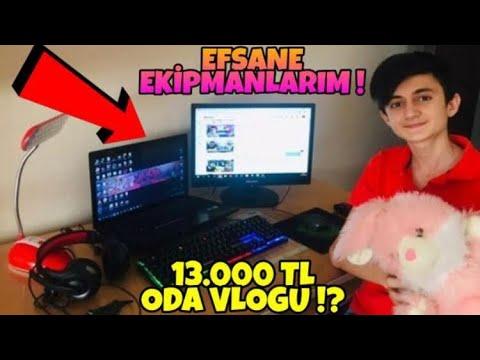 EFSANE ODA VLOGU   13.000 TL