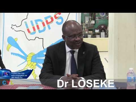 CONFERENCE  DE PRESSE ' Dr LOSEKE AU CANADA MONTREAL