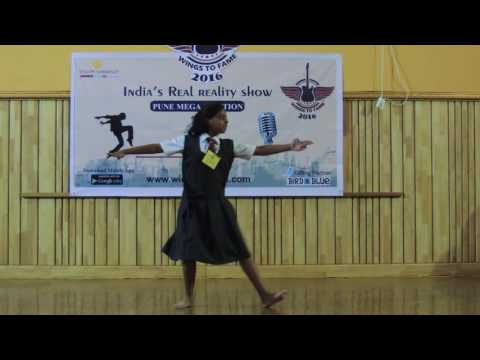 Wings To Fame Pune (MIT) Audition - 20 - 324 - Ananya Abhyankar