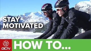 How To Stay Motivated Through Winter | Road Cycling Tips