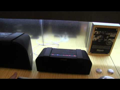 Klipsh NFC Portable Speaker Demo