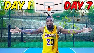 I WORE MY LEBRON JAMES LAKERS JERSEY FOR 7 DAYS STRAIGHT WITHOUT WASHING IT!