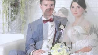 Свадебная фотосессия в интерьерной фото студии/ Фотограф в Самаре/ слайд шоу/прогулка парк Гагарина