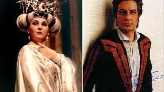 """Ghena Dimitrova & Lando Bartolini-Turandot-Finale-""""Principessa di morte!..."""","""