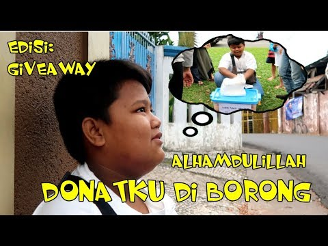 #VIRAL BORONG Donat FADLI (Penjual Donat Viral) Colab Feat Haidar Channel Di CFD Cijantung