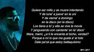 Anuel AA - Reggaetonera LETRA