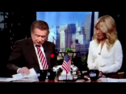 Regis and Kelly US Foods Chicago - YouTube