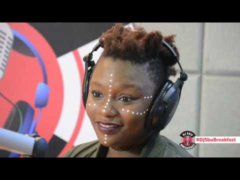 Amanda Black performs Amazulu on the DJ Sbu Breakfast
