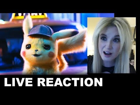 Detective Pikachu Trailer REACTION
