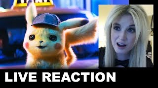 Detective Pikachu Trailer REACTION