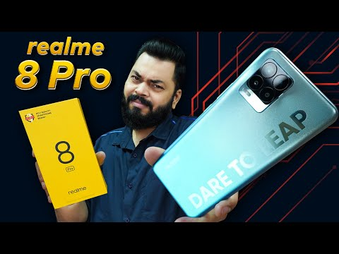 realme 8 Pro Unboxing And First Impressions   Mixed Feelings ⚡ 108MP Camera, SD720G & More