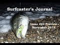 Preview of issue # 22 of the Surfcaster's Journal Online Magazine