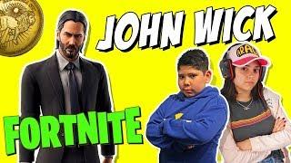 JOHN WICK en FORTNITE Nuevo! modo de JUEGO + DESAFÍOS JOHN WICK Temporada 9 Fortnite