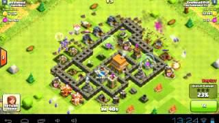 Clash Of Clans grosse attaque pour petit village episode 1