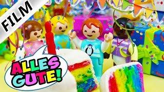 Playmobil Film deutsch EMMAS 5. GEBURTSTAG IN KITA Feier fast verschlafen | Kinderfilm Familie Vogel