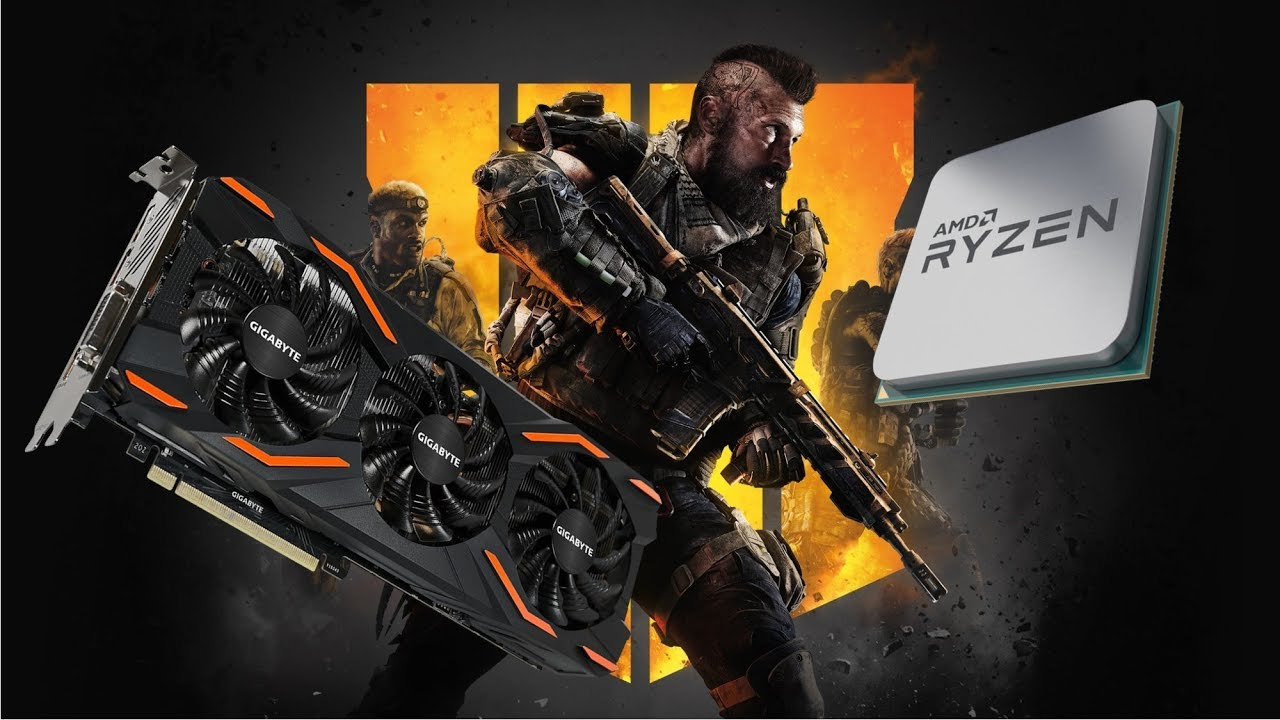 Call of duty: Black ops 4 gtx 1080 ryzen 5 1600 benchmark