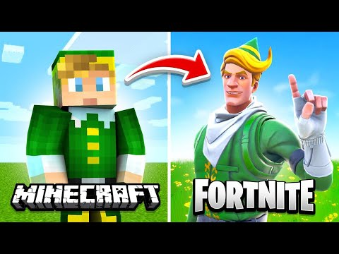 Minecraft But Its Actually Fortnite...