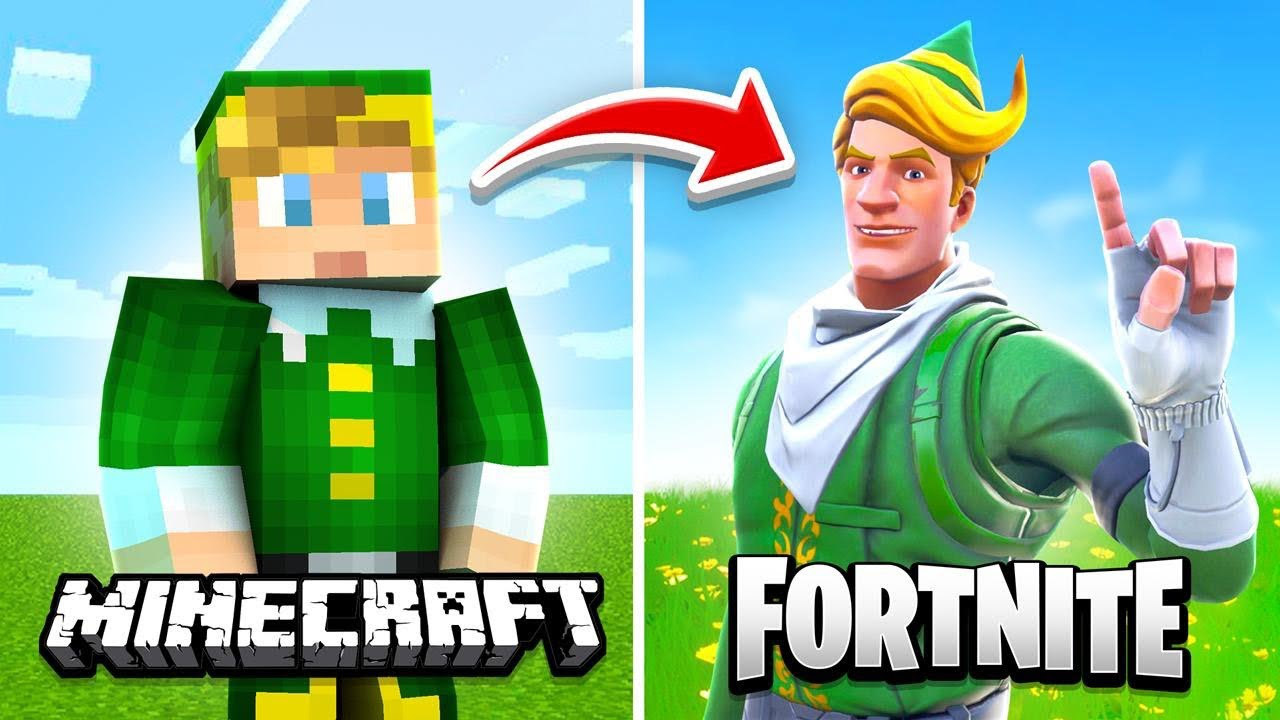 Minecraft But Its Actually Fortnite Youtube Official twitter account for #fortnite; minecraft but its actually fortnite