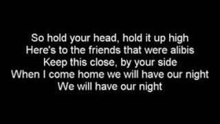 Escape The Fate - Friends And Alibis