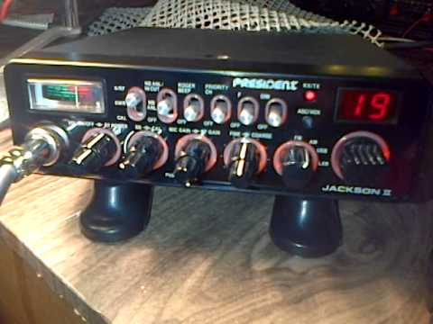 My first legal AM CB Radio contact - Midnight 27 June 2014
