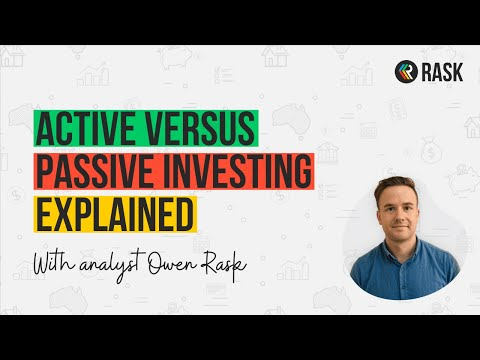 Active Versus Passive Investing Explained | Rask Finance | [HD]
