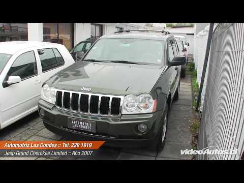 VideoAutos.cl :: Autos Usados con Video :: JEEP GRAND CHEROKEE FLEXFUEL Videos De Viajes