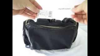 [SOLD] Pierre Hardy Bag Bagpack Black Neoprene Snakeskin Runway SS12 !