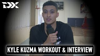 Kyle Kuzma NBA Pre-Draft Workout and Interview