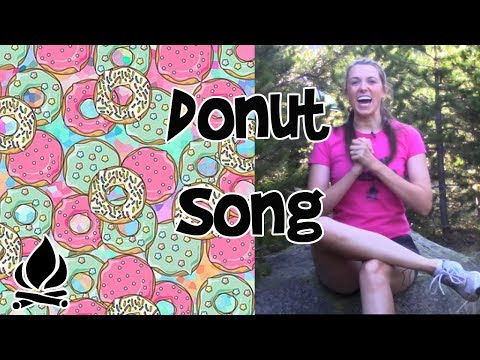 DONUT SHOP SONG – A Summer Camp Favorite – Sing with Me!!