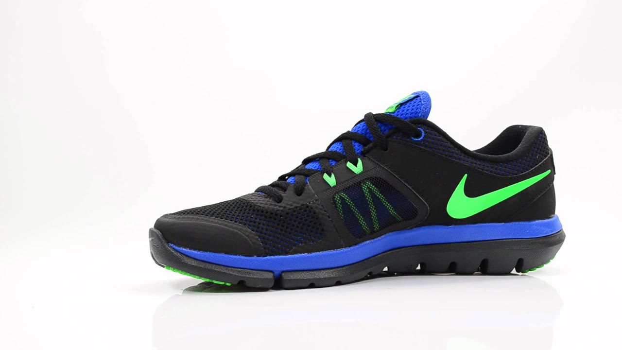 low priced d389d d492b NIKE MEN SNEAKERS, SCHUHE, SCHOENEN FLEX 2014 BLACKBLUEGREEN