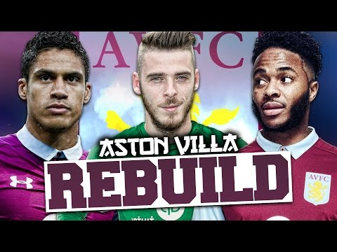 REBUILDING ASTON VILLA!!! FIFA 17 Career Mode