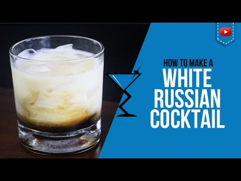 How to make a white russian tipsy bartender