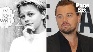 Leonardo DiCaprio is a high school dropout who got his GED