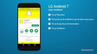 Tips & Tricks - LG smartphone: Apps installeren (Android 7)