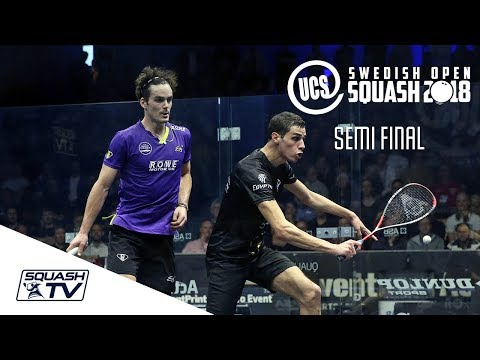 Squash: Farag v Coll - UCS Swedish Open 2018 Semi-Final Roundup
