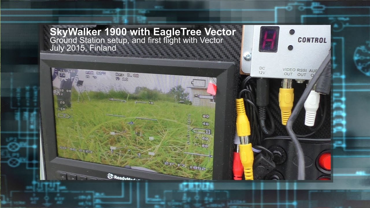 Skywalker 1900 With Et Vector Plus Fpv Ground Station Overview Wiring Diagram
