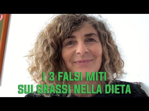 I 3 falsi miti sui grassi nella dieta