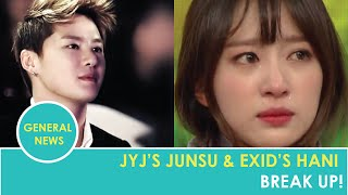 JYJ's Junsu and EXID's Hani Have Broken Up! MP3