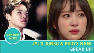 JYJ's Junsu and EXID's Hani Have Broken Up! MP3