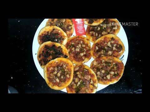 صورة  طريقة عمل البيتزا طريقة عمل البيتزا😋 بشكل مختلف من غير جبن🤩 طريقة عمل البيتزا من يوتيوب