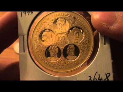 Recent Numismatic Purchases Video - Gold and More! - Numismatics with Kenny