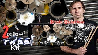 Avenged Sevenfold - Brooks Wackerman DW Drum Set Into Realdrum Preset Kit | Free PRESET KIT