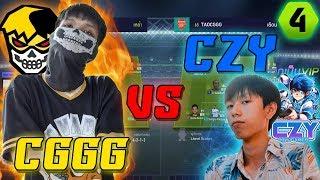 1-1 กับคนดัง!! CZY vs พี่เต๋าCGGG [FIFA Online 4] #FO4