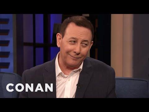 "Paul Reubens Had A CGI Face In ""Pee-wee's Big Holiday"" - CONAN on TBS"