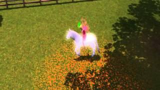 Les Sims 3 - Fée Chevauchant une licorne