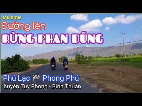 Đường Lên RỪNG PHAN DŨNG | TUY PHONG - BÌNH THUẬN | VVDTN