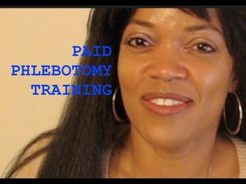 PHLEBOTOMY: HOW TO GET ON THE JOB TRAINING - November 8, 2017 - Friday Morning Phlebotomy Vlog